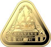 100 Dollars - Elizabeth II (6th Portrait - Batavia) -  reverse