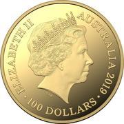 100 Dollars - Elizabeth II (4th Portrait - Bottlenose Dolphin) -  obverse