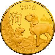 100 Dollars - Elizabeth II (4th Portrait - Year of the Dog) -  reverse
