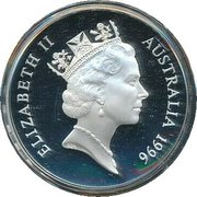 1 Dollar - Elizabeth II (3rd Portrait - 30th Anniversary - Decimal Currency) – obverse