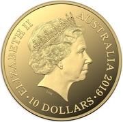 10 Dollars - Elizabeth II (4th Portrait - Australian Bushrangers) -  obverse