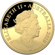 200 Dollars - Elizabeth II (6th Portrait - Australian Coinage Portrait  - Gold Proof) -  obverse