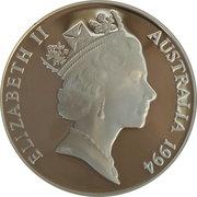 10 Dollars - Elizabeth II (Wedge Tailed Eagle Piedfort) -  obverse