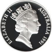 10 Dollars - Elizabeth II (3rd Portrait - Jabiru - Silver Proof) -  obverse