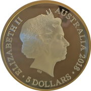 5 Dollars - Elizabeth II (4th Portrait - XXI Commonwealth Games - Share the Dream) -  obverse