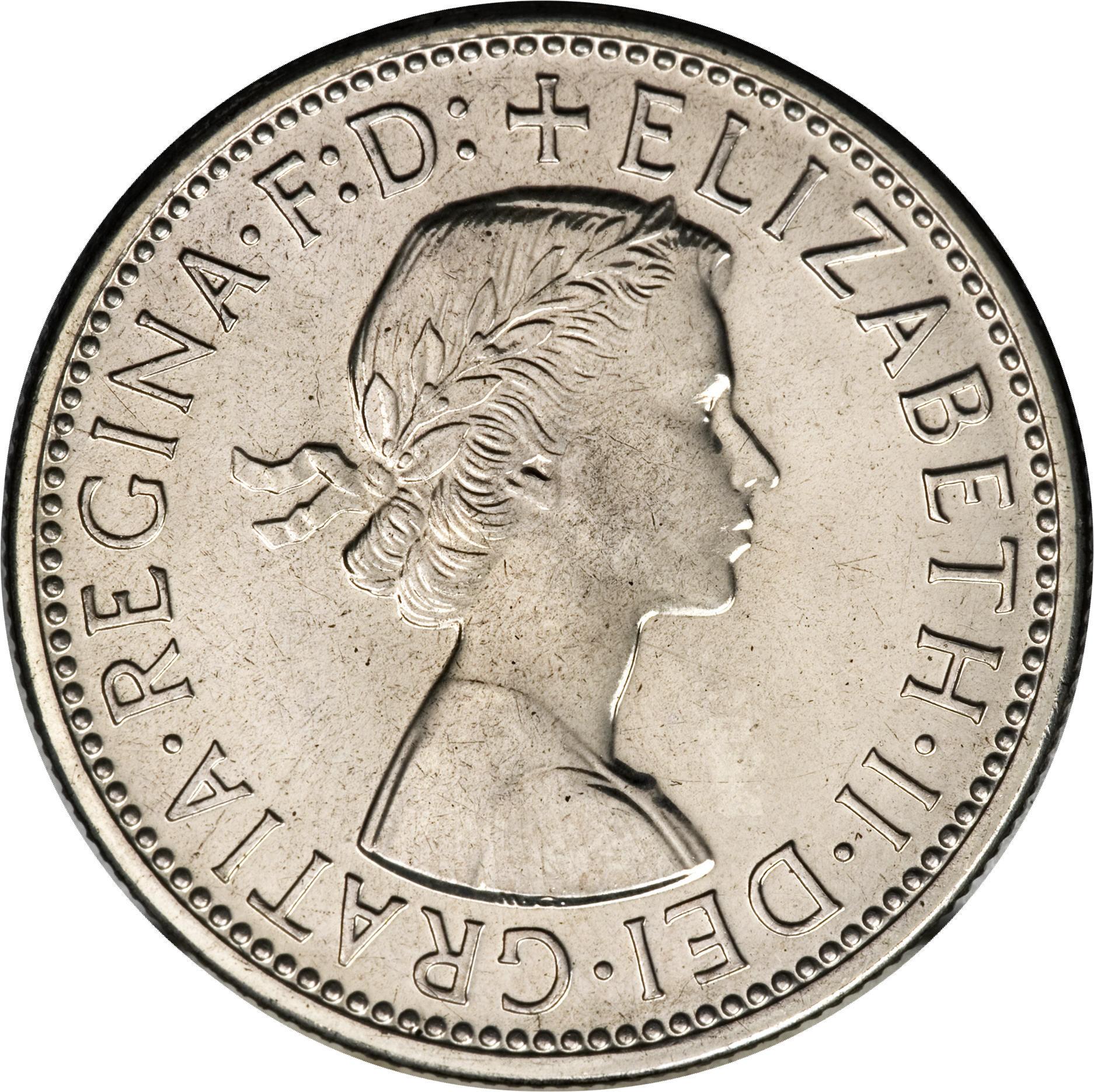 very Nice QUEEN Elizabeth II 1957 Australian Silver Shilling 1//
