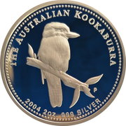 2 Dollars - Elizabeth II (4th Portrait - Kookaburra) -  reverse