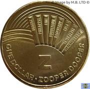 1 Dollar - Elizabeth II (4th Portrait - The Great Aussie Coin Hunt - Letter Z) -  reverse