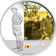 1 Dollar - Elizabeth II (4th Portrait - Tobruk 1941) -  reverse