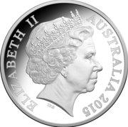 1 Dollar - Elizabeth II (4th Portrait - ANZAC Centenary - Silver Proof) -  obverse