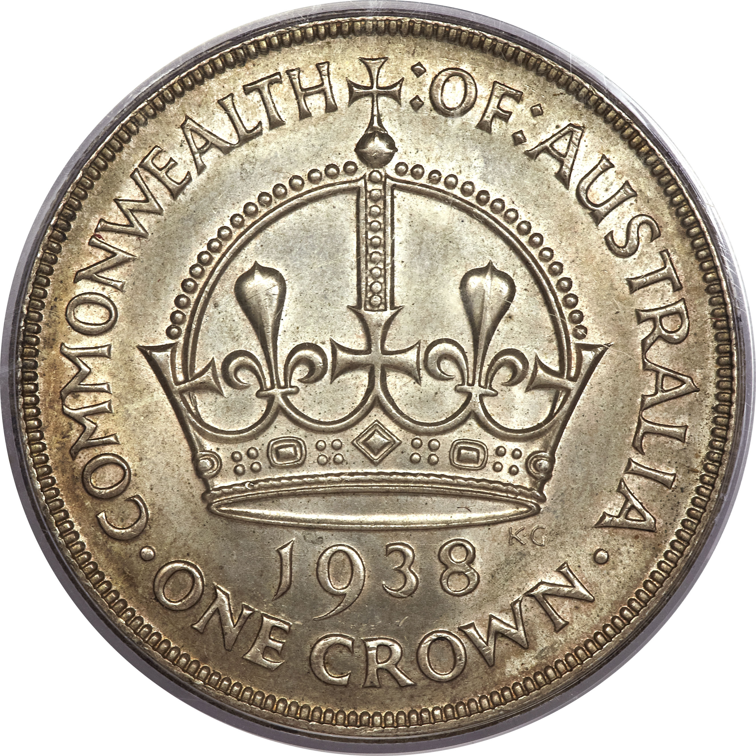 1 Crown George Vi Coronation Australia Numista