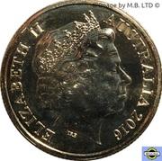1 Dollar - Elizabeth II (4th Portrait - Australia's First Mints) -  obverse