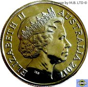 1 Dollar - Elizabeth II (4th Portrait - Century of the Battle of Beersheba) -  obverse