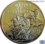 1 Dollar - Elizabeth II (4th Portrait - Century of the Battle of Beersheba) -  reverse