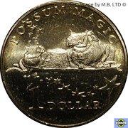 1 Dollar - Elizabeth II (4th Portrait - Possum Magic - Lamingtons are Magical) -  reverse