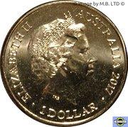 1 Dollar - Elizabeth II (4th Portrait - Trans-Australian Railway) -  obverse