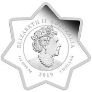 1 Dollar - Elizabeth II (6th Portrait - Christmas 2019) -  obverse