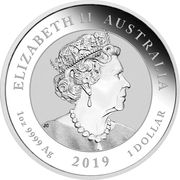 1 Dollar - Elizabeth II (6th Portrait - Graduation) -  obverse
