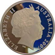 5 Dollars - Elizabeth II (4th Portrait - Year of the Surf Lifesaver - Silver Proof) – obverse