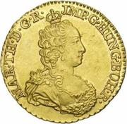 2 Souverain - Maria Theresia (Type 2) – obverse