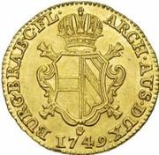 2 Souverain - Maria Theresia (Type 2) – reverse