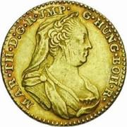 1 Souverain - Maria Theresia (Type 3) – obverse