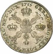 1 Kronenthaler - Franz I – reverse