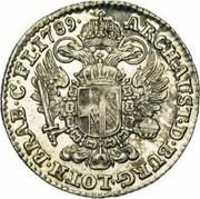 14 Liards / 14 Oorden - Joseph II – reverse