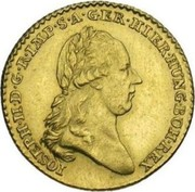 Souverain d'or  - Joseph II (Type 1) – obverse