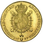 Souverain d'or  - Joseph II (Type 1) – reverse