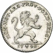 1 Florin / 1 Gulden (Type 1; Insurrection Coinage) – obverse