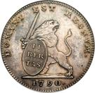 3 Florins / 3 Guldens (Insurrection Coinage) – obverse