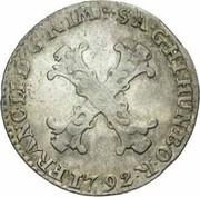 10 Liards / 10 Oorden - Franz II – obverse