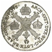 ¼ Kronenthaler - Franz II – reverse