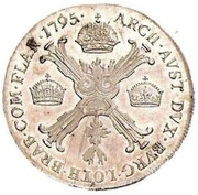 ½ Kronenthaler - Franz II – reverse
