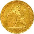 14 Florins / 14 Guldens (Insurrection Coinage) – obverse