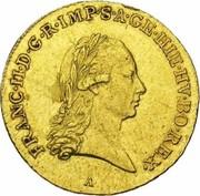 ½ Souverain - Franz II – obverse