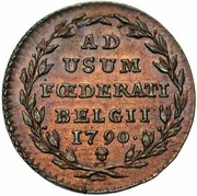 2 Liards /  2 Oorden (Insurrection Coinage) – reverse