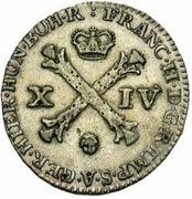 14 Liards / 14 Oorden - Franz II – obverse