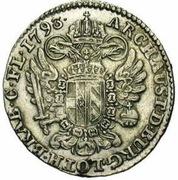 14 Liards / 14 Oorden - Franz II – reverse