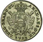 1 Escalin - Maria Theresia – reverse