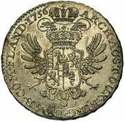 ½ Kronenthaler - Maria Theresia (Type 1) – reverse