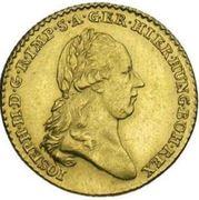 ½ Souverain - Joseph II – obverse
