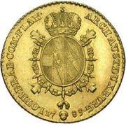 ½ Souverain - Joseph II – reverse