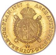 ½ Souverain - Joseph II -  reverse