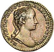 1 Liard / 1 Oord - Maria Theresia – obverse