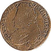 1 Liard - Carlos VI / Karl VI – obverse