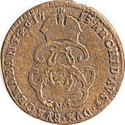 1 Liard - Carlos VI / Karl VI – reverse