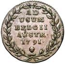 2 Liards / 2 Oorden - Leopold II – reverse