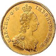 2 Souverains - Maria Theresia (Vienna) – obverse
